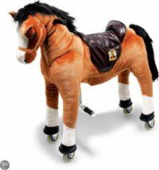 Bruine Base Toys Houten Paard Lightning