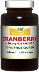 Elvitaal Cranberry + 60 mg vitamine c 150 Stuks