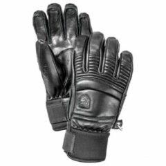 Hestra - Leather Fall Line 5 Finger - Handschoenen maat 10, zwart/grijs