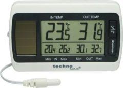 Techno Line TechnoLine WS 7008 Solar-Thermometer mit Kabel