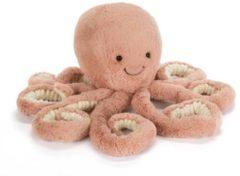 Roze Jellycat - Octopus - Odell - Small - Knuffel - Odell Octopus Little - 23cm