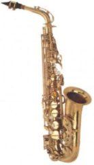 Gouden Purell Saxofoon Purcell gelakt incl. koffer