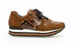 Gabor Vrouwen Sneakers - 36.448 - Cognac - Maat 37