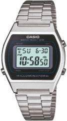 Zilveren Casio Collection B640WD-1AVEF - Horloge - Staal - Zilverkleurig - Ø 35 mm