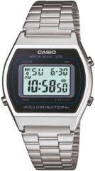 Zilveren Casio Collection B640WD-1AVEF - Horloge - Staal - Zilverkleurig - Ø 35 mm