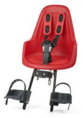 Rode Bobike One Mini - Fietsstoeltje Voorzitje - Strawberry Red
