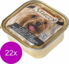 Mister Stuzzy Dog Paté 150 g - Hondenvoer - 22 x Rund