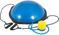 Blauwe Gorilla Sports Balance Board met Weerstandsgrepen (Kunststof)