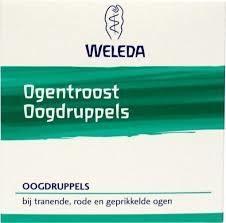 Weleda Ogentroost oogdruppels ampullen - 10 stuks