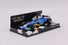 F1 Sauber C24 Jack Villeneuve Showcar 2005