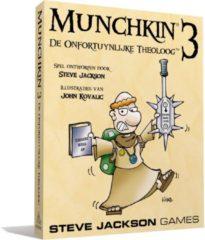 Asmodee Munchkin 3 De Onfortuinlijke Theoloog - Kaartspel