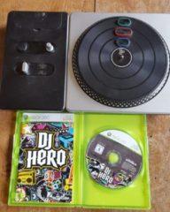 Microsoft Xbox 360 dj hero 1 plus draaitafel