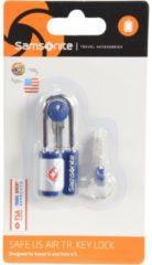 Accessories Reise-Sicherheit TSA-Vorhängeschloss I 2,5 cm Samsonite indigo blue