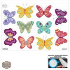 Walldecor Vlinder set meubel-, muurstickers