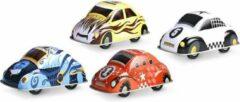 Vilac Les Speedo cars - Metalen pull back auto - 1 stuk assorti