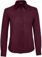 Paarse Overhemd Sols EXECUTIVE POPELIN WORK