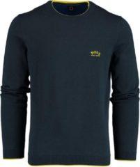 Donkerblauwe Hugo Boss 50440679 Pullover - Maat XXL - Heren