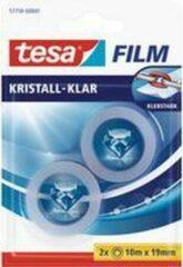 Tesafilm Plakband Kristall-Klar 15 mm x 10 m Transparant