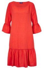 CONLEYS BLUE Kleid, aus 100% Leinen, Modisch, Leinen