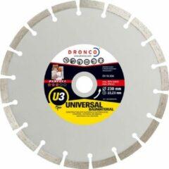 Zilveren Dronco Diamantschijf 115mm universeel gesegmenteerd Quality ST-U3 4113810100