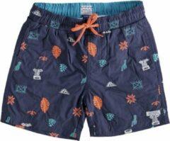 Indian Blue Jeans Indian blue blauw beach short met binnenbroek - Maat 116