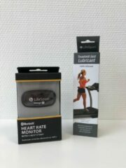 Gele Lifespan Fitness LifeSpan Starters kit: LifeSpan Siliconen Spray voor het smeren van je loopband en LifeSpan Hartslagmeter met borstband voor het meten van je hartslag tijdens het trainen