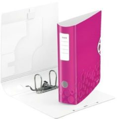 Leitz 1106 Active WOW ATT.NUM.BACK WIDTH: 82 mm Pink metallic 2 beugels 1106-00-23