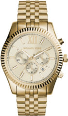 Michael Kors MK8281 Lexington chrono goudkleurig Herenhorloge