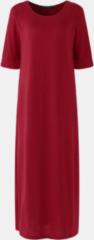 Lichtpaarse ZANZEA Solid Color High Slit Dress