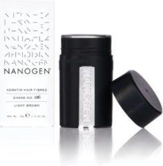 Nanogen Hair Fibres No. 06 Light Brown 15 gr