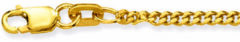 Glow Gouden Lengtecollier - Gourmet 2.1 Mm 201.0745.64