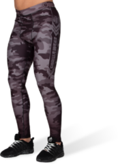 Gorilla Wear Franklin Tights - Zwart/Grijs Camo - 4XL