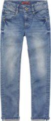 Blauwe Vingino Jongens Jeans - Mid Blue Wash - Maat 176