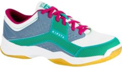 KIPSTA Volleyballschuhe V100 Damen blau/grün, Größe: 37