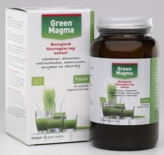 Groene Green-magm Groen Magma Instant Poeder groen Magma 80 Gram