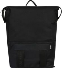 Calvin Klein Nastro Logo Trapezee Backpack black backpack
