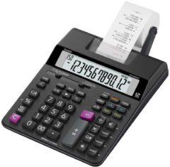 Bureaurekenmachine met printer Casio HR-200 RCE Zwart Aantal displayposities: 12 werkt op batterijen, werkt op het lichtnet (optioneel)