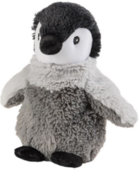 Grijze Greenlife Value GmbH Warmies Magnetronknuffel baby pinguin mini