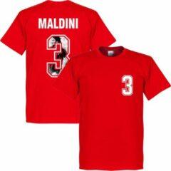 Retake Maldini 3 Gallery T-Shirt - Rood - XS