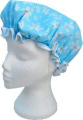 Blauwe Vagabond Traditionele Engelse Douchemuts - Bleu Flowers