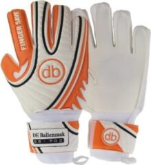 Oranje DE Ballenzaak Keepershandschoenen Fingersave db 700 SUPERGRIP