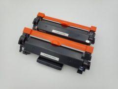 Zwarte KATRIZ® huismerk toner voor Brother TN2420 | DCP-L2510D / DCP-L2530DW/DCP-L2550DN/HL-L2310D/HL-L2350DW/HL-L2370DN/HL-L2375DW/MFC-L2710DN/MFC-L2710DW/MFC-L2730DW/MFC-L2750DW | (2 stuks)