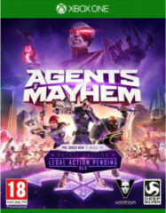 Koch Media Agents of Mayhem (Day One Edition) (incl. 6 Character Skins) Xbox One (KMG597.BX.RB)