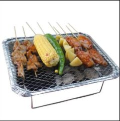 Discountershop Barbecue - Instant - Wegwerp - Buiten barbecue - Tafel - Rooster - Balkon - Picknick - Barbecue accessoires - Grill - Barbecue kopen - Barbecuen - Barbecue saus