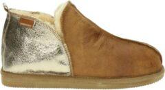 Bruine Shepherd Annie dames pantoffel - Camel - Maat 37