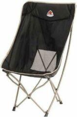 Zwarte Robens Strider - Campingstoel - Hoge kampeerstoel - Opvouwbaar