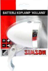 Simson Holland Koplamp - Fietslamp - Batterij - LED - Wit
