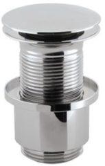 Crosswater Basin Wast afvoerplug ongesloten voor wastafel met klikwaste verlengd 10cm chroom BSW0102C