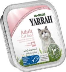 YARRAH CAT KUIPJE WELLNESS PATE ZALM OMEGA 3/6 KATTENVOER #95; 100 GR