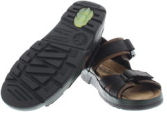 Zwarte Mephisto Shark Dark Brown Sandalen